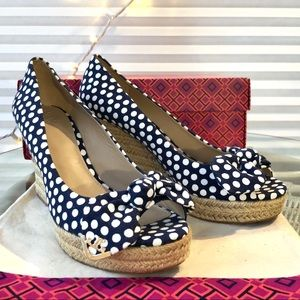 Tory Burch Dory Wedge Espadrille